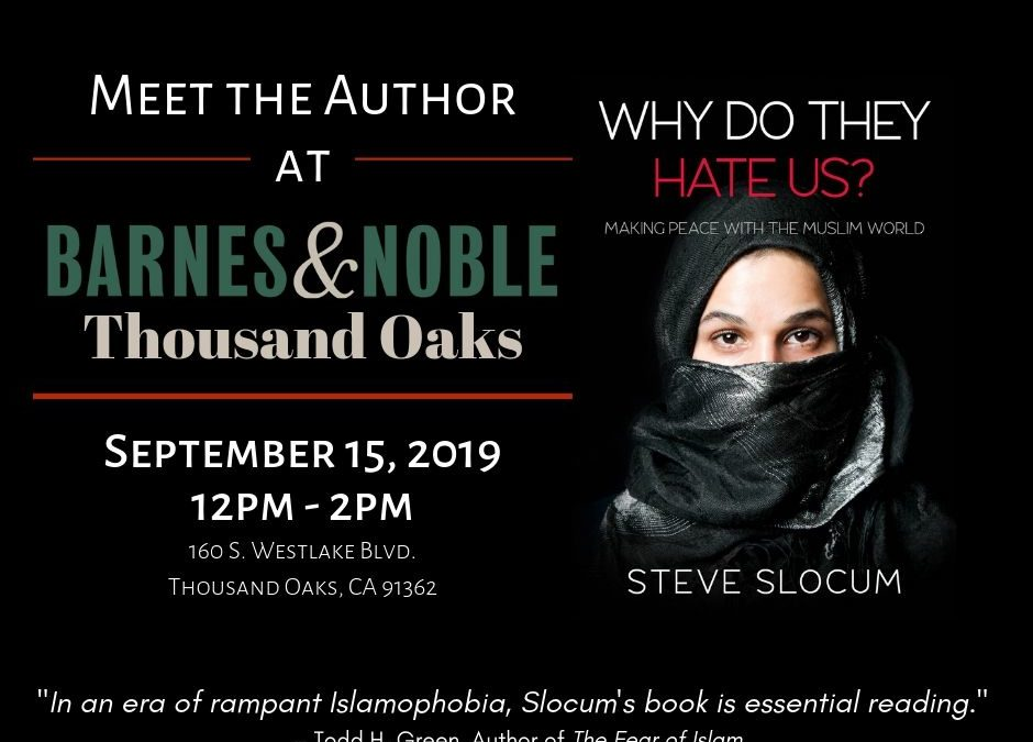 Book-Signing Event, Thousand Oaks